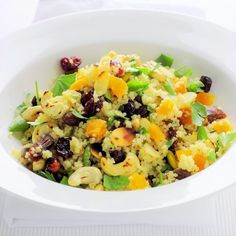 A festively fruity, nutty couscous