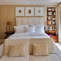 love all white beds
