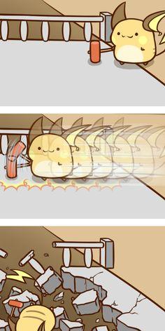 Mini Chibi Raichu Adventures 63 (Pokemon)