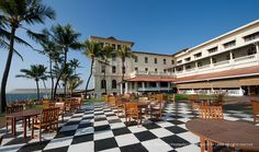 Galle Face Hotel (Sri Lanka). 'Where the word 'sunsetting' was invented... You sit, they serve, you watch... How could life be any better? Best place to get away from the crazy pace of the city. Top-notch margaritas, too!' http://www.lonelyplanet.com/sri-lanka/colombo/activities/swimming/galle-face-hotel