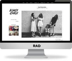 Black Chalk Blogger Template sur ETSY  https://www.etsy.com/listing/170823121/black-chalk-blogger-template