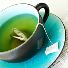 Vihreä? Teekuppi-ideaa.