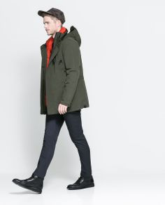 5a069e68 Zara THREE QUARTER LENGTH PUFFER JACKET Ref. 1792/352 299.00 CAD OUTER SHELL  FRONT: 65% POLYESTER, 35% NYLON BACK: 100% NYLON LINING 100% POLYESTER