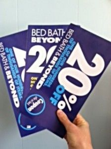 Bed Bath and Beyond coupon 2014