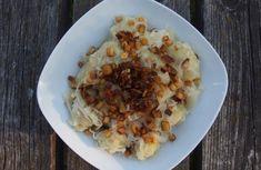 "Chlupaté knedlíky s tofu ""slaninkou"" Pavlova, Tofu, Oatmeal, Grains, Rice, Vegetarian, Breakfast, Diet, The Oatmeal"