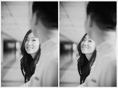 She looking, he looking