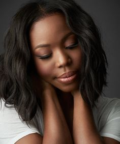 """""""Pretty for a dark skinned girl."""" @KahlanaBarfield, thank you for this honest, moving essay. #colorism"""