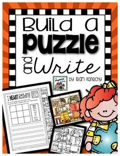 Students will build a small puzzle and then write a super sentence with the words provided in the bank. Puzzles have been found to improve hand-eye coordination, fine motor skills, problem solving, memory, and patience.These activities are ready to print and go.