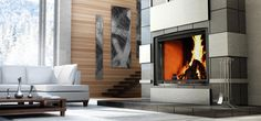 Love this elegant fireplace by Tate Builders Supply and Energy Solutions #housetrends https://www.housetrends.com/specialist/Tate-Builders-Supply