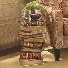 Table, Book Stack from Ginny's ®