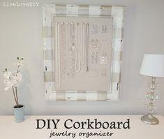 DIY Jewelry Organizer | Creative Home