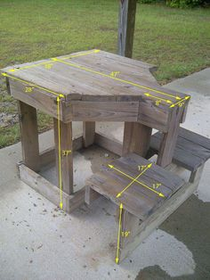 Woodworking Bench Shooting Bench - Tap The Link Now To Find Gadgets for Survival and Outdoor Camping Outdoor Shooting Range, Shooting Table, Shooting House, Shooting Rest, Shooting Stand, Deer Shooting, Outdoor Projects, Pallet Projects, Diy Pallet