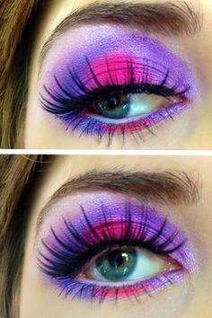 Bright makeup Makeup and Neon on Pinterest #0: b de6157e12edf97db467