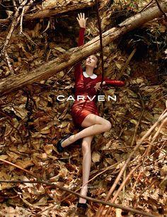 Carven FW2010 Campaign