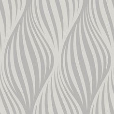 2662-001956 Charcoal Ogee - Distinction - Precision Wallpaper by Beacon House