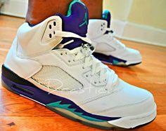"""Air Jordan Retro 5 """"Grape"""" Colorway... tblakeraps.com"""
