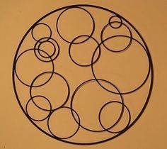 The Statement Wall Spiral Metal Art Contemporary Pinterest Walls And