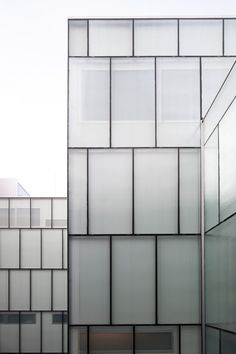 Pierre Hebbelinck | Théatre de Liège. Understated and elegant, this facade is minimalism at its best.