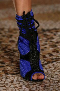 emilio pucci | ss2014 | neoprene mesh booties