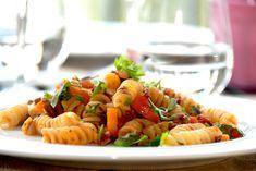 En populær pastaret er kødsovs med gulerødder, som også er en god ret for børn. Foto: Guffeliguf.dk.