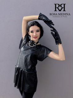 Black & White Mood Invierno del 2014 Vestuario y Foto: Rosa Medina