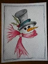 christmas watercolor cards - Yahoo Image Search Results