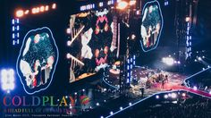 Coldplay Live in Singapore: CALL IT MAGIC! #Coldplay #Bucketlist