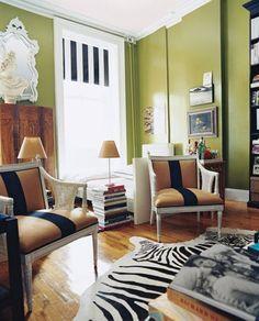 Nick Olsen's flatiron apartment Domino Magazine