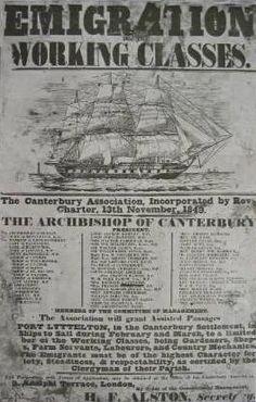 Emigration Posters