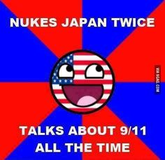 We warned Japan multiple times that we had nukes and that we would use them. They didn't listen and kept on fighting and attacking. Our attack was of self defense and to protect other people.