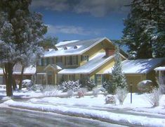 """The Griswold House in """"National Lampoon's Christmas Vacation"""""""