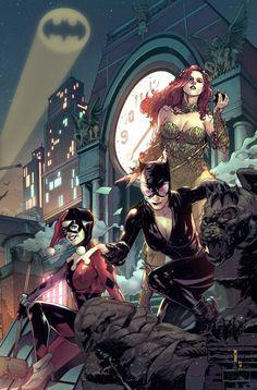 Gotham Girls Art Print by Garrie Gastonny