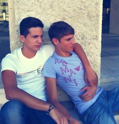 Young gay love...