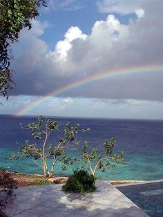 Rainbow in Bonaire