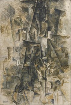 Accordionist, 1911. Photo by Kristopher McKay © The Solomon R. Guggenheim Foundation. All works © 2012 Estate of Pablo Picasso/Artists Rights Society (ARS), New York