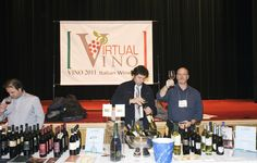 Wine tasting at Virtual Vino, Vino 2011