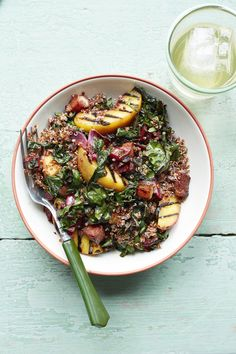 Grilled Quinoa Bowl #healthy