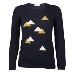 Vintage SONIA RYKIEL 70s Graphic Triangle Sweater from The Way We Wore Los Angeles