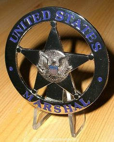 Badge US Marshal by dynamicentry122, via Flickr