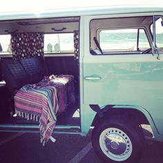 Campervan, retro vacation #summer #roadtrip