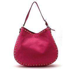 Fuchsia Ava Shoulder Bag