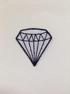 Patch Emoji Diamante