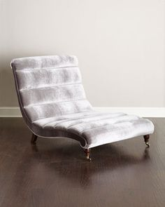 Channel Chaise by Haute House at Neiman Marcus.