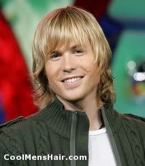 Ashley Parker Angel Long Hairstyle | Cool Men's Hairstyles Pictures & Styling Tips
