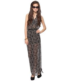 Belted Woven Print Jumpsuit | FOREVER21 - 2000037430