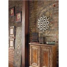 Baiano Decorative Metal Mirror