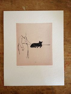 Cat Lady  Art Print by yousentimentalidiot on Etsy