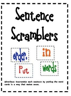 Sarah's First Grade Snippets: writing