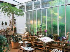 artist's studio space- dream studio right here.
