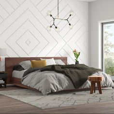 All art this is certainly black bed room decor, luxury black and White Master Bedroom cozy Glamour Master Suite decor Upholstered Platform Bed, Bed Platform, Tufted Bed, Bedroom Furniture, Bedroom Decor, Bedroom Ideas, Bedroom Designs, Bedroom Rustic, Wall Decor